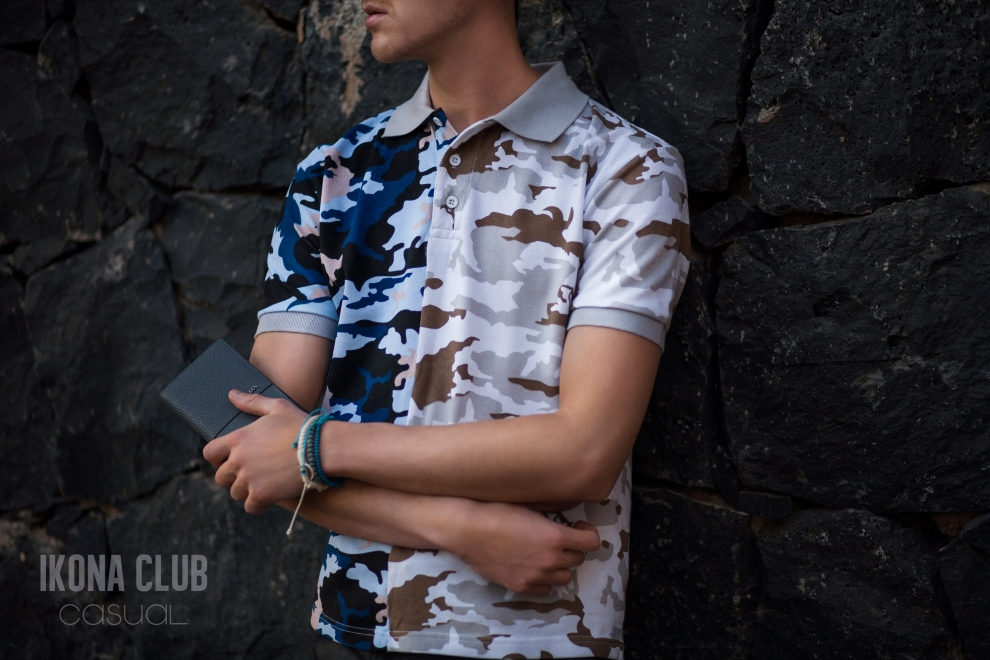 Fashion | Camouflage polo