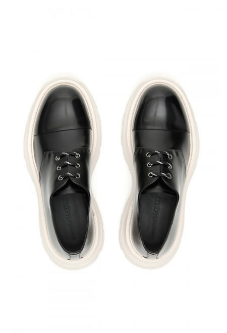 ALEXANDER MCQUEEN Treadleather derby shoes
