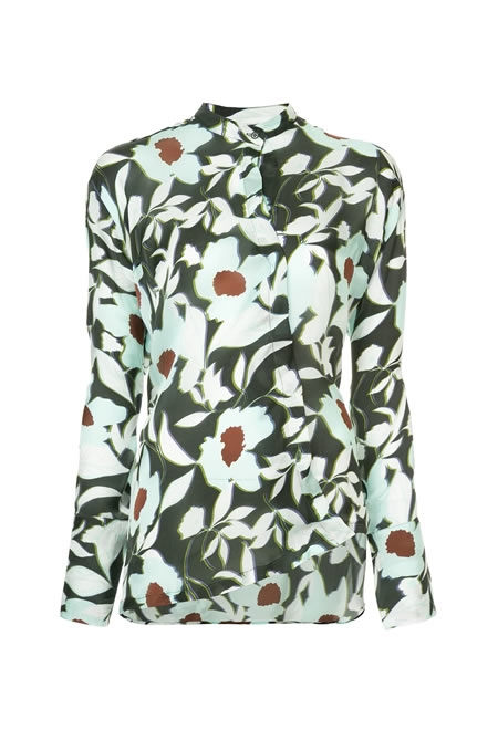 CHRISTIAN WIJNANTS  Floral print shirt