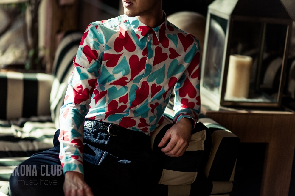 Fashion | Heart print shirt