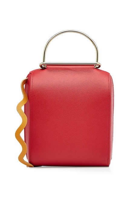 ROKSANDA red leather shoulder bag