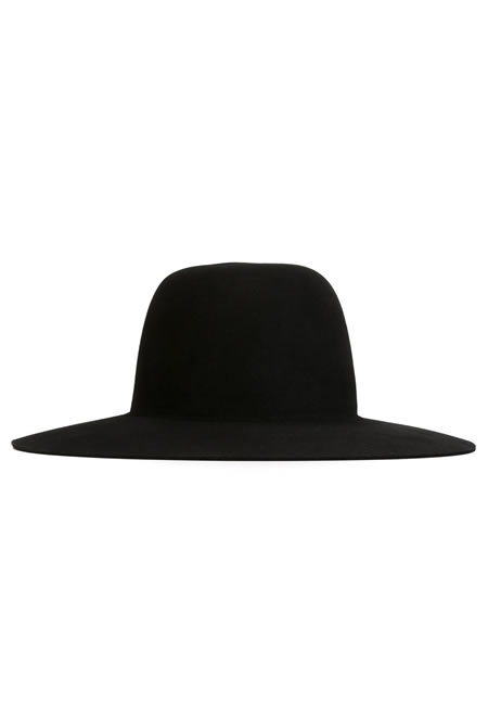 OFF WHITE wide brim hat