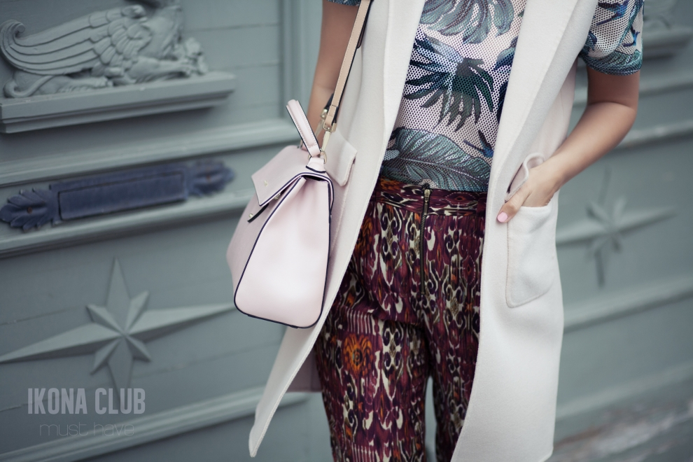 Street fashion photo | Bag Coccinelle B14