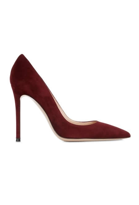 GIANVITO ROSSI 100mm suede pumps