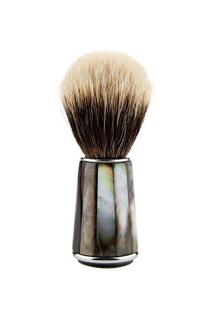 CEDES MILANO mother-of-pearl shaving brush