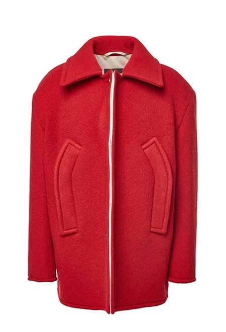 RAF SIMONS  Coat with virgin wool and mohair  €1370.00