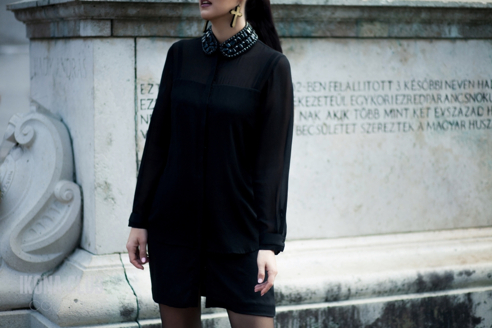 Fashion Week | All black | Maria Naumenko