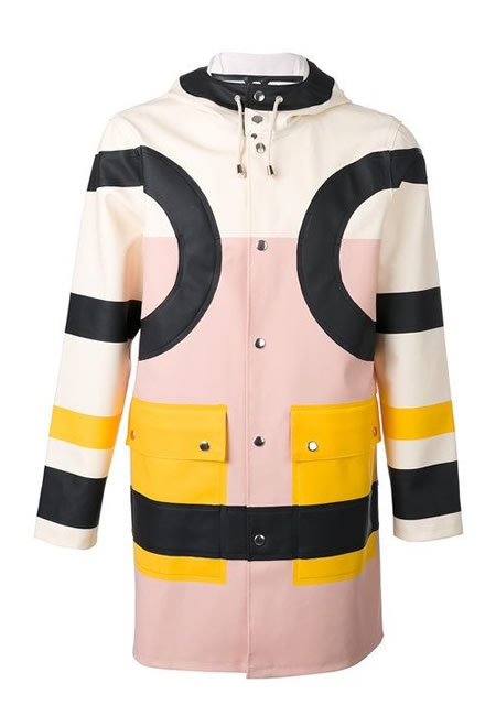 Henrik Vibskov colour multicolor coat