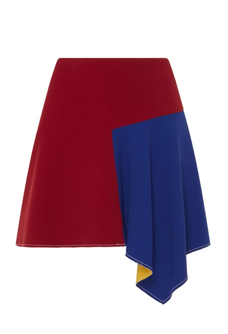 PARDENS nira mini skirt