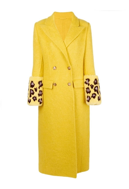 ERMANNO SCERVINO Double breasted coat