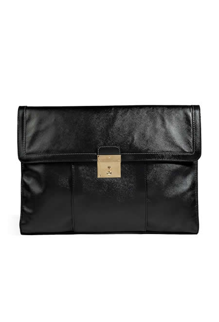 MARC JACOBS leather document holder