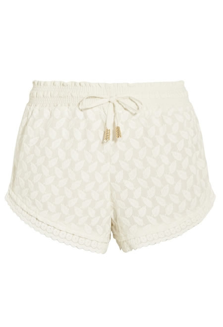 PALOMA BLUE mykonos embroidered shorts