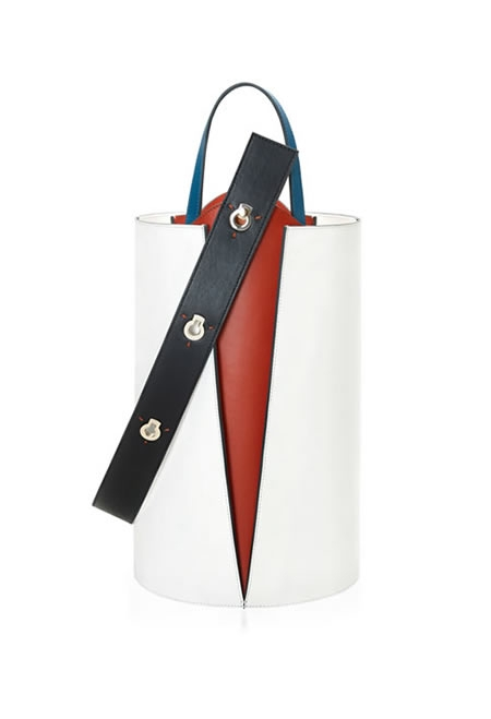 DANSE LENTE lorna leather tote