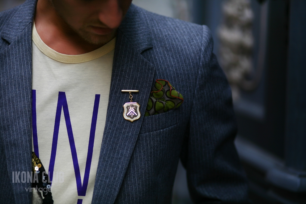 Street style | Pocket square