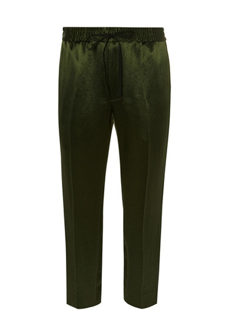 GUCCI Green tapered trousers