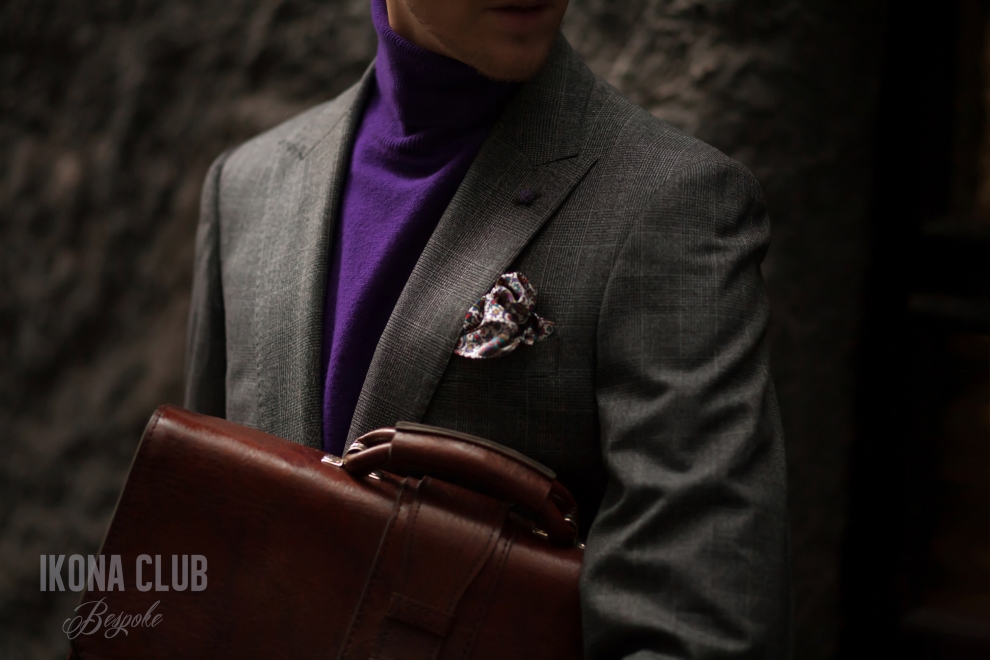 Street style | Mens briefcase