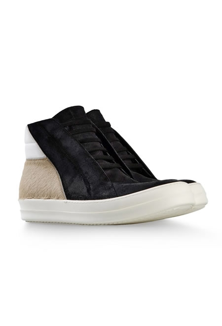 RICK OWENS high-top dress shoes