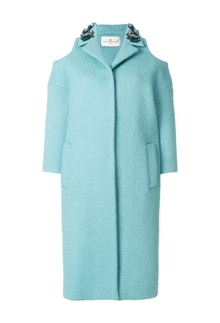 ANYA HINDMARCH cold shoulder coat