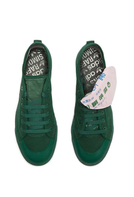 ADIDAS BY RAF SIMONS Spirit low green shoes