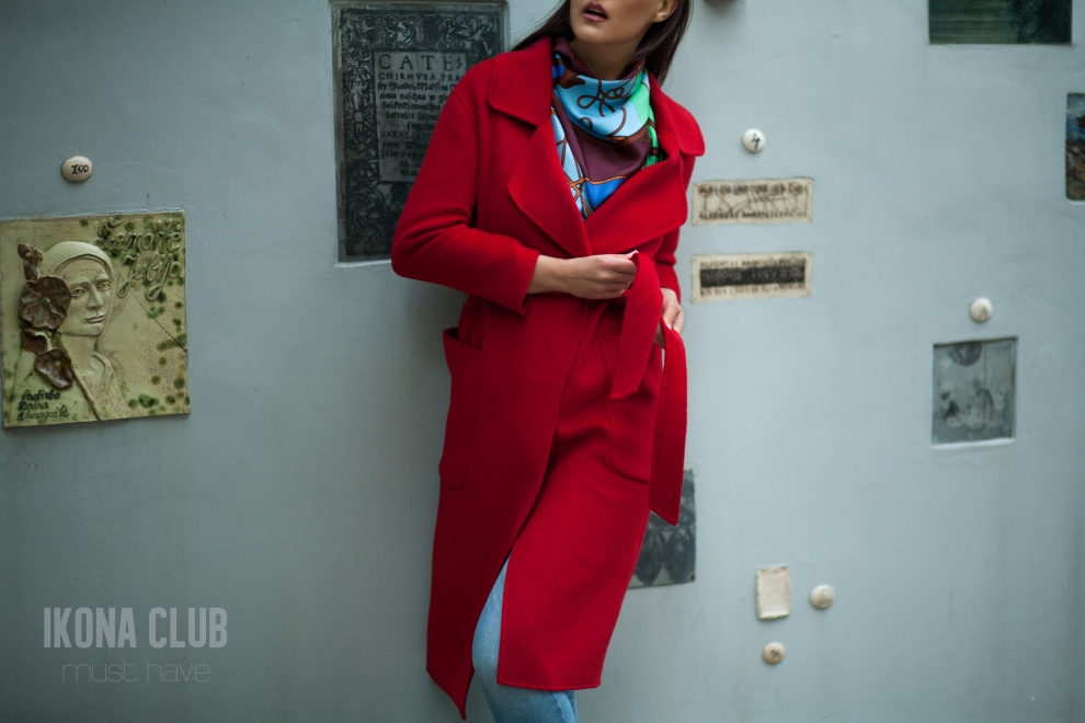 Fashion | Red Max Mara coat