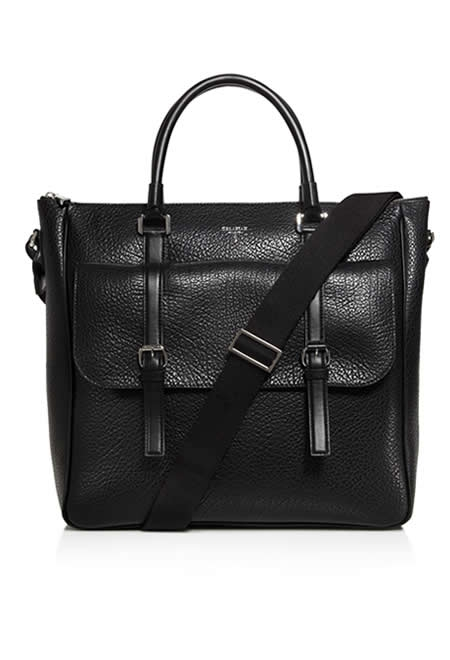 SERAPIAN black shopper tote
